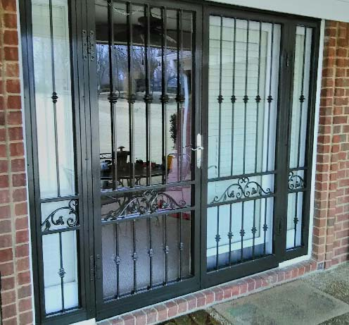 220 Double Security Storm Door