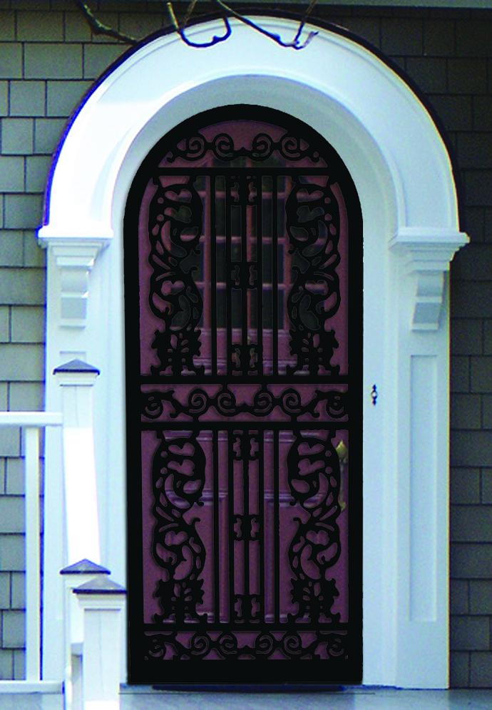 144 Regency Round Top West Tennessee Ornamental Door