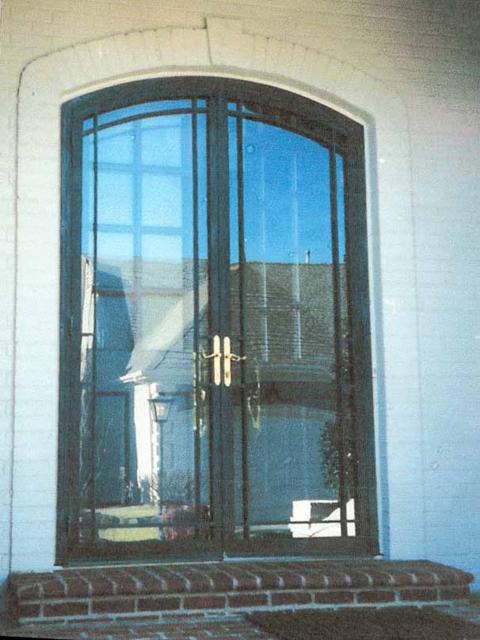 201 steel security storm door psl west tennessee for Storm doors for double entry doors