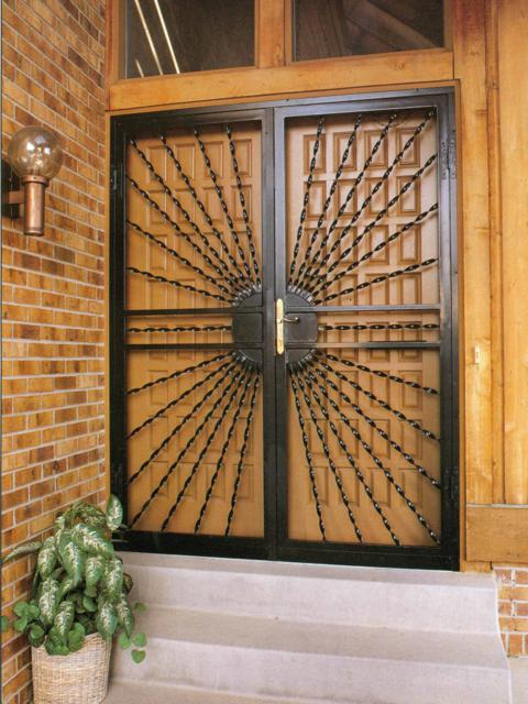 240 Eclipse Double Security Doors