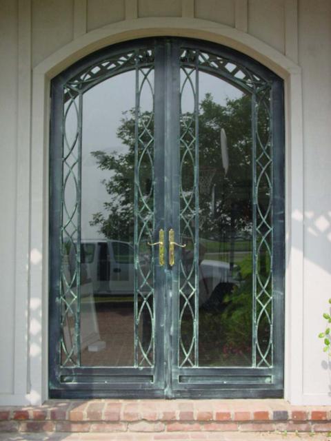 Double Secuity Storm Doors