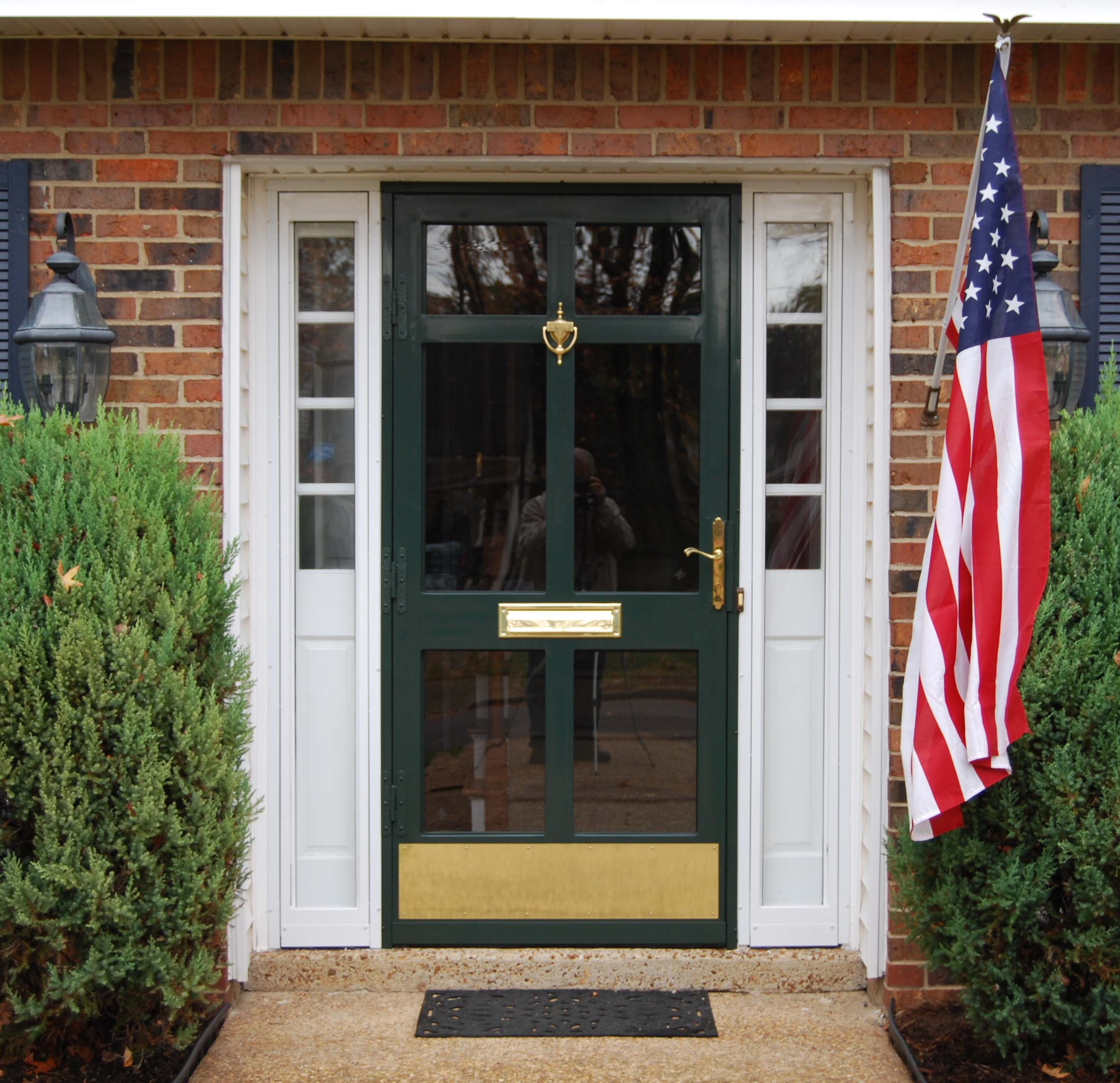 Security Storm Doors Product : Security storm doors