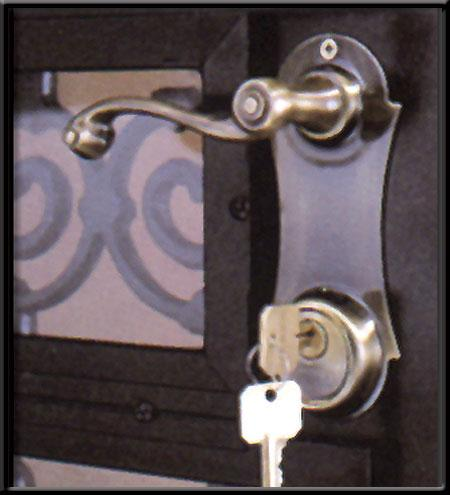 Secuirty Storm Door Locks